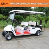 Тележка гольфа хорошего качества электрическая 6 Seater, Sightseeing тележка гольфа, дешевая тележка гольфа для сбывания