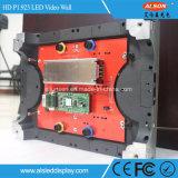 Tela interna do diodo emissor de luz do arrendamento HD da cor P1.923 cheia para a mostra