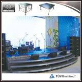 TUVの販売のための安定した移動式アルミニウムイベントの段階のプラットホーム