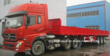 12.5 Semitrailer Flatbed dos medidores com parede lateral
