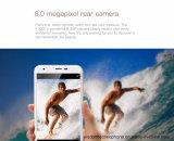 元のOukitel K7000の携帯電話のアンドロイド6.0 5.0inch Mt6737のクォードのコア2GB RAM 16GB ROM 8MPはスマートな電話灰色SIM 4G Lteの二倍になる