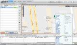 Mini sistema de seguimento tempo real do GPS com alerta da velocidade excessiva (MT05-KW)