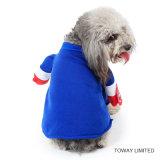El animal doméstico del diseño arropa a capitán Dog Cosplay Costume de los E.E.U.U. de los productos del perro