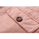 Phoebeeの偶然の常連の女の子のための適当なピンクの平野の100%年の綿の不足分