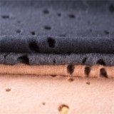 100% Ha scavato-fuori i tessuti delle lane nel nero