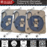 Schnallt Strickmaschine Tt5 blaues Kevlar-Netzkabel/Stahlnetzkabel um
