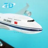 Modello dell'aereo passeggeri della resina di Air China B747-400