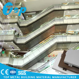 Панель деревянного зерна алюминиевая составная для коммерчески здания