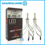 Farol 2017 do diodo emissor de luz do carro do poder superior H11 de Markcars