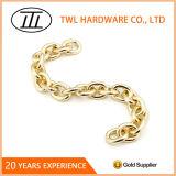 가벼운 금 색깔 장식적인 사슬