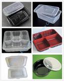 플라스틱 컵 뚜껑 또는 쟁반 또는 음식 상자 플레스틱 포장 덮개를 위한 자동적인 플라스틱 형성 기계