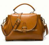 Madame en cuir Handbag de loisirs de sac d'épaule de mode d'unité centrale de créateur