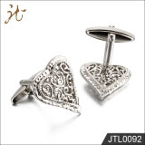 Botones del pun¢o del diseño del corazón de la calidad de la manera Niza para la joyería