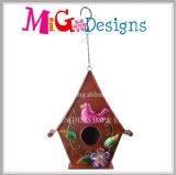 Wildbirdの卸し売り心配はハングの金属の鳥の家の庭の装飾をマルチ使用する