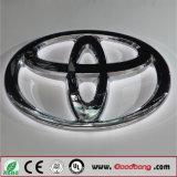 Marchio acrilico personalizzato dell'automobile della base LED, segno di marchio dell'automobile con il LED Insided