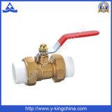 """Válvula de esfera de água de controle de latão PPR 1/2 """"-2"""" (YD-1001)"""