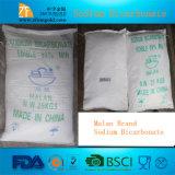 Bicarbonato de sódio pulverizado 99% de Malan do preço de fábrica