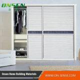 Qualität Classic Design PVC Shutter Series Wardrobe Sliding Door für Schlafzimmer