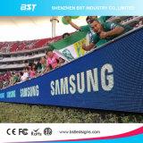 Alta bandera al aire libre a todo color de la publicidad de pantalla del perímetro LED del brillo P12 SMD