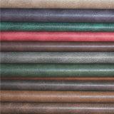 A alta qualidade Microfiber liso imitou o couro de Upholstery do sofá