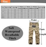 Gros Couleur Cp Chasse Camping Sharkskin Pantalons Mutil-Taille escalade extérieure Ski vent pantalons imperméables