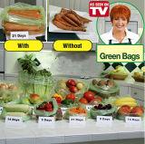 Мешок высокого качества зеленый и свежие полиэтиленовые пакеты