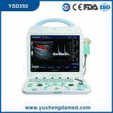 セリウムの医療機器のデジタル診断携帯用カラードップラー超音波機械