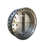 Тип задерживающий клапан вафли нержавеющей стали ANSI качания диска двойника