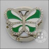 다이아몬드 상감세공 부대 거는 반지, 금속 걸이 (GZHY-BHR-064)