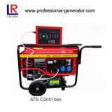 générateur portatif de l'essence 5kVA avec le cadre de contrôle d'ATS