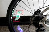 Lumière de la roue LED de fil de rai de bicyclette de 3 modes