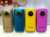 El cargador portable 5200mAh del teléfono del precio barato libera la impresión de la insignia