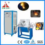 Horno electromágnetico de la fusión del metal para el hierro de acero 18kg (JLZ-45)