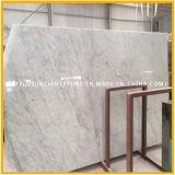 Слябы строительного материала Bianco Carrara белые мраморный для плиток настила/плиток стены