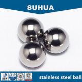 bola de acero inoxidable de 6.35m m AISI440c para el rodamiento