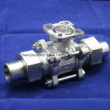 Ce Union 3PC Ball Valve