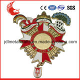 Метод заливки формы и значок шерифа пользы сувенира