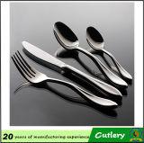 Couteau à cuillère en acier inoxydable Cuillère à fourche Fourchette à 4 pièces