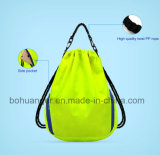 TravelingのためのリサイクルされたPolyester Promotion Outdoor Sport Drawstring Backpack Bag