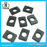 Kundenspezifischer Lichtbogen-Block-Platten-Ring-permanenter Ferrit-Magnet