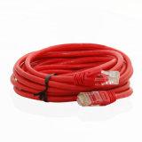 피트 빨간 Cat5e UTP RJ45 이더네트 접속 코드 케이블 15