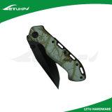 까만 완료 Foldable 소형 Camo 칼