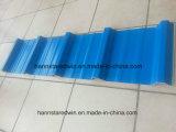 Ripia compuesta acanalada de la azotea del aislante de calor de los azulejos de azotea del PVC de México
