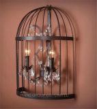 Lâmpada de parede decorativa da forma de Phine com iluminação interior do metal