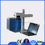 Gravura a água-forte do laser da fibra para a máquina de impressão da impressora de cor do aço inoxidável/laser/laser