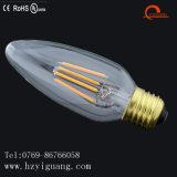 Bulbo del filamento de C45 LED para la luz de techo