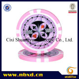 11.5g 8stripe Poker Chips met Stickers (sy-D17B)