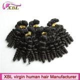 Cabelo europeu de trama do cabelo novo do Virgin da onda do bebê da textura