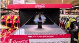 De volledige Holografische Virtuele Showcase van de Vertoning van de Piramide van het Hologram van de Projectie HD