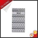 Drucken-Zeichen-Kleid etikettiert Papierzoll geformte Namensmarke